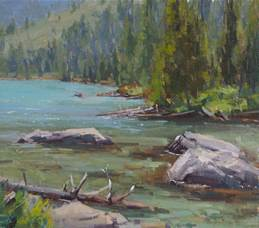 """Aaron Schuerr -""""Fresh And Direct Landscape Painting"""" @ Lowell Campus 