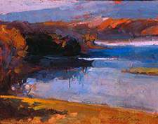 """Aline Ordman -""""Painting Landscapes in Oil and Pastel"""" @ Lowell Campus   Lowell   Michigan   United States"""