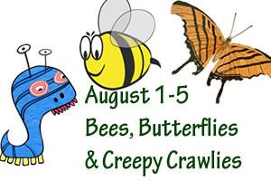 bees-butterflies