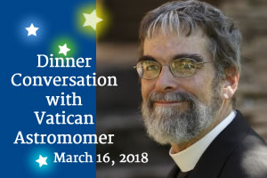 Dinner with Vatican Astronomer